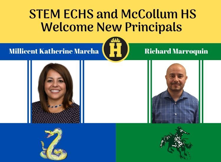 New Principals at MCHS and STEM ECHS