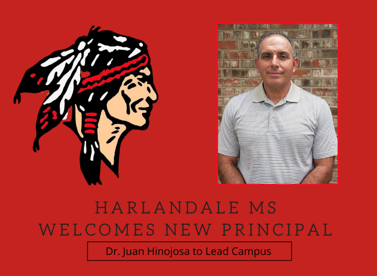 Harlandale MS Welcomes New Principal