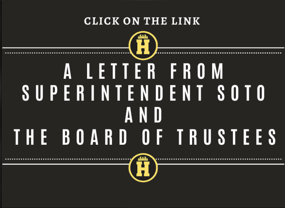 A Message from Superintendent Soto and HISD Board of Trustees